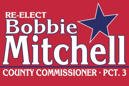 Re-Elect Commissioner Bobbie Mitchell
