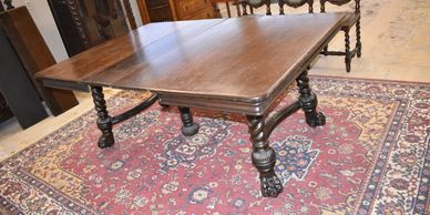 One of the antique tables for sale at our website