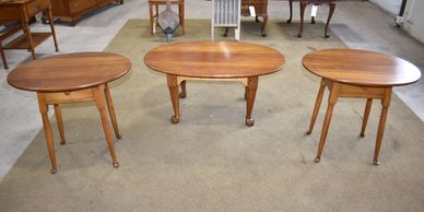 Vintage Coffee Table & End Table Sets