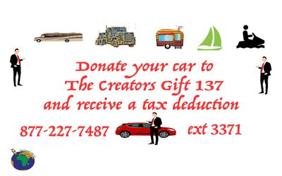 DonationLine.com  Call 877-227-7487 ext 3371 to support TheCreators Gift 137