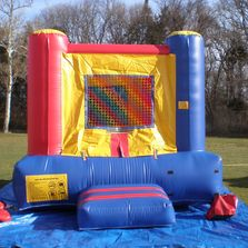 This 10 x 10 bouncer will fit indoors!