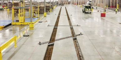 Pratt Industries Automated Machinery Tracks, Excavation and Placement.