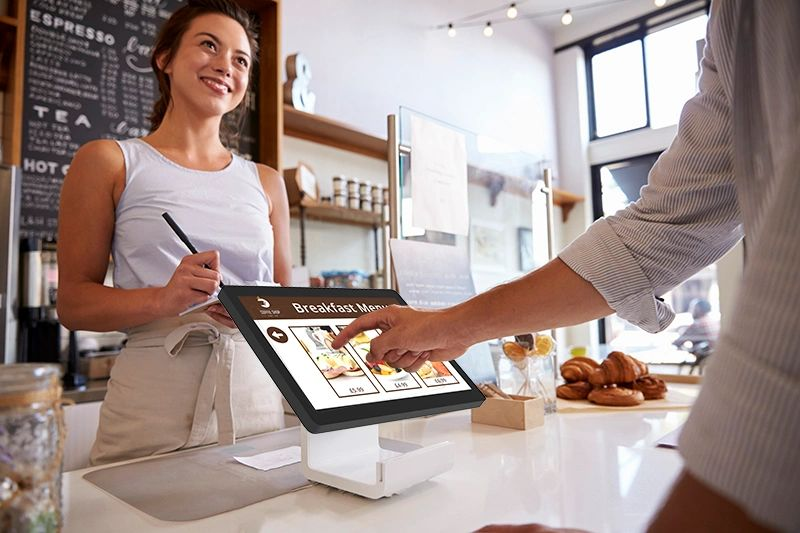 touch screen point of sale android device