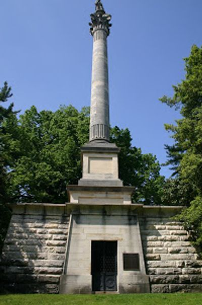 Henry Clay Memorial at the Lexington Cemetery