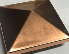 top view -copper cap