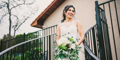 Villa Wedding. Image by Sloan Breeding