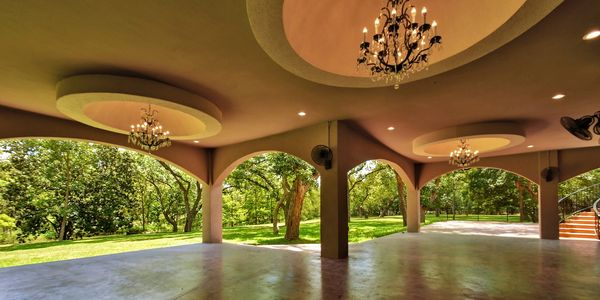 Wimberley Wedding Venue, Messina Inn outdoor ballroom.