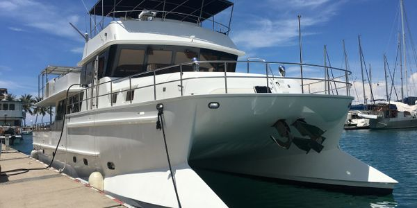 Yacht Delivery Solutions delivery of 70ft catamaran yachtdeliverysolutions.com