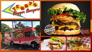 Our Burgers are hand crafted daily and always charbroiled to order. www.teddysbb.com