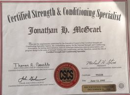 Certified Strength & Conditioning Specialist