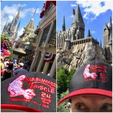 Kissimmee Muscle Sister at Walt Disney World & The Wizarding World of Harry Potter
