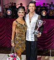 Arkady and rosa winners of Blackpool championship