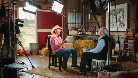 The Big Interview w/ Kix Brooks & Dan Rather for AXS-TV. Camera Crews & Video Equipment by Chris Conder/Point of View Productions in Nashville, TN