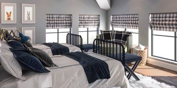 custom bedding window blinds drapery upholstery