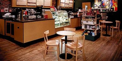 G2 has developed restaurants for nearly fifty different brands, including this Starbucks Coffee.