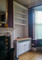 Alcove cabinet fitted in lichfield by TW Bespoke