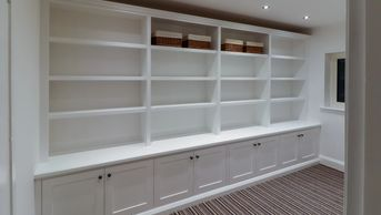 Large 4.2 Metre bookcase, burton on trent