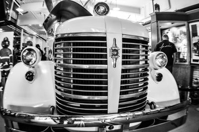 A 1942 American LaFrance fire engine at the Denver Firefighters Museum