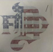 United States flag Denver Fire Department logo decal