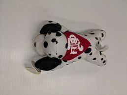 Denver Fire Department dalmatian fire dog plus toy kids