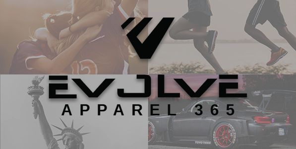 Evolve Apparel 365 Logo Running Statue of Liberty Car Sports Team