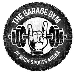 The Garage Gym Logo Round Rock Texas