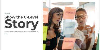 Data for Execs magazine feature Show the C-Level Story