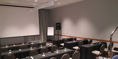 Business meetings, PA Systems, Conferences Trinidad
