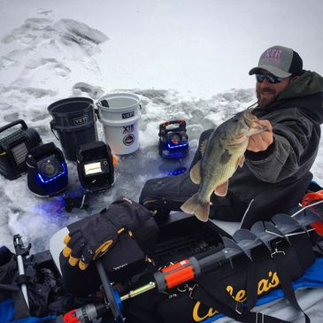 Ice Fishing inland lakes
