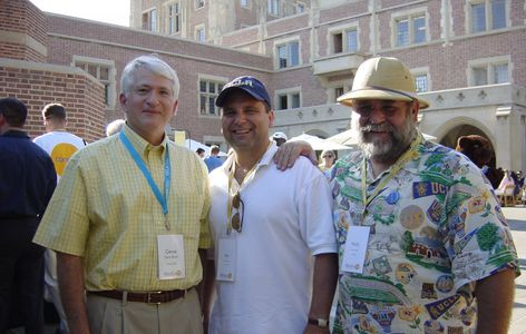 UCLA Chancellor Gene Bloch, Rey Cano, UniCamp Ex. Dir.(Retired) Wally Wirick