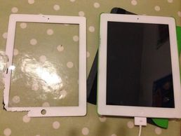 iPad screen replacement dunfermline