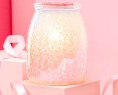 Hope Strength & Love warmer- from the sale we will donate $9.50 to National Breast Cancer Foundation