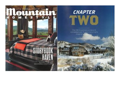 Aspen Sojourner Holiday 2019/2020 Mountain Homestyle Holiday 2019/2020 Photos by David O Marlow, Inc