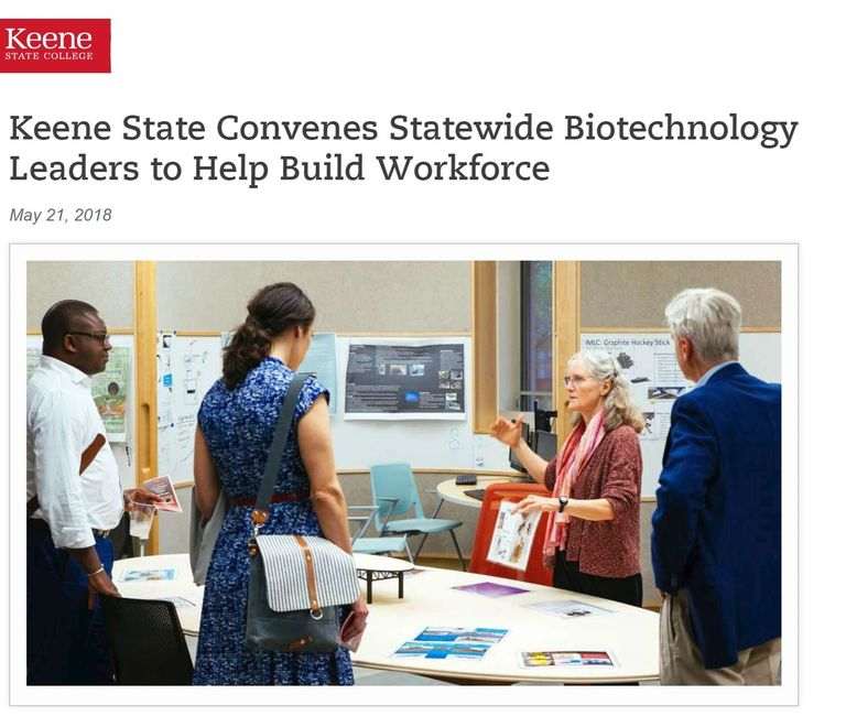 Keene State Biotechnology Workforce