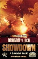 Cover for Dragon vs Lich Showdown for Savage Worlds from Sigil
