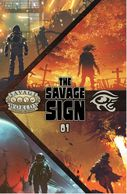 Cover of Savage Sign Savage Worlds anthology on DriveThruRPG