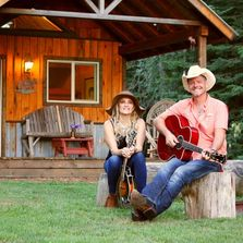 The camping cabin in Sandpoint's pastoral Selle Valley is the most popular lodging in town!