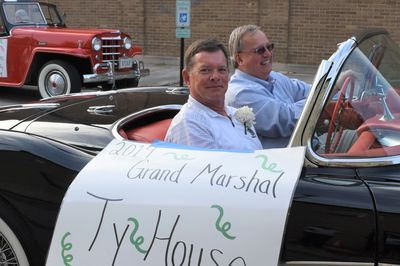Parade Grand Marshal Ty House