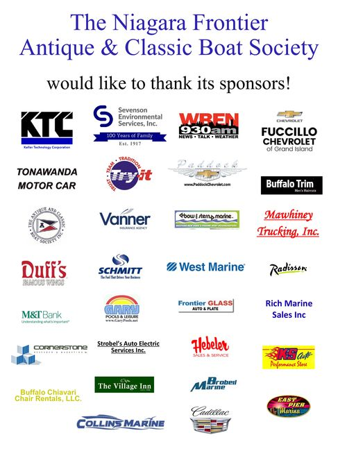 Our 2018 NFACB Boat Show Sponsors