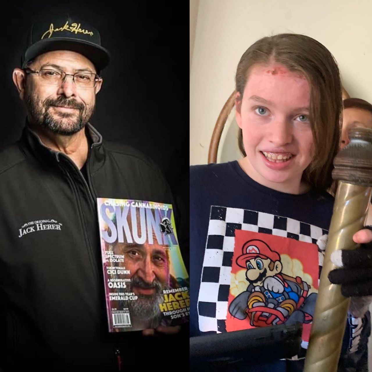 Dan Herer, son of legend Jack, has pledged his support for Genevieve's Dream (Credit: Skunk Mag)