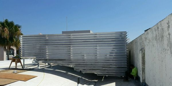 Roof Equipment Screen