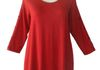 Comfy Modal Lily Tunic hampton red $130