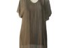 Dance In Paris 2 Layer Tunic brown $100