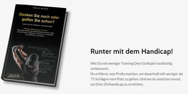 Mentalcoach, Golf, Redner, Coach für Golfer, Golftraining, Trainer