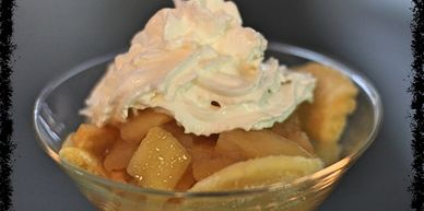 BAKED APPLE TAPIOCA PUDDING