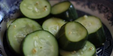 Hot Pot Cucumber Pickles