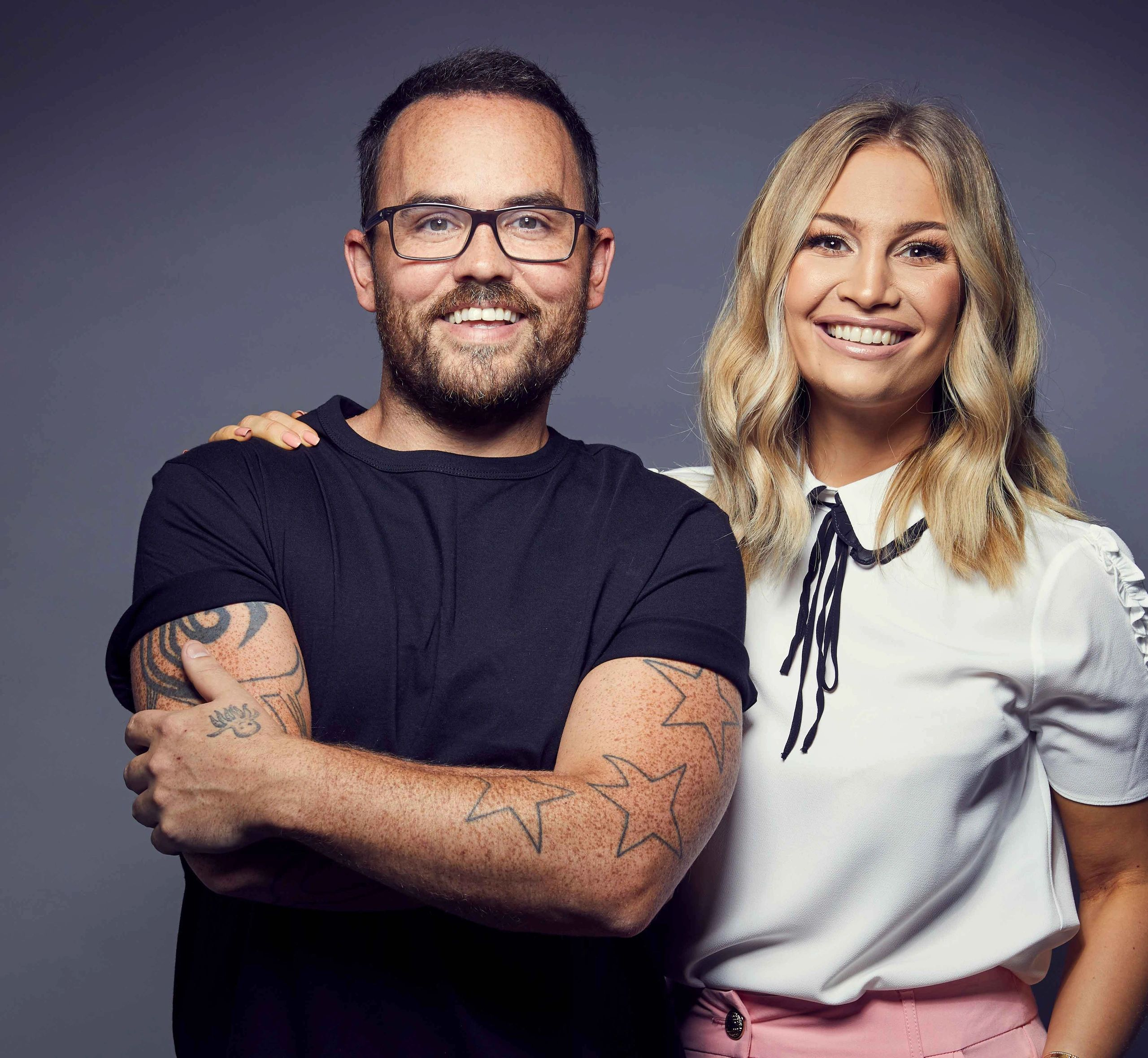 No Kids allowed is a podcast chat show hosting by Jonathan and Anna  also known as the SacconeJolys