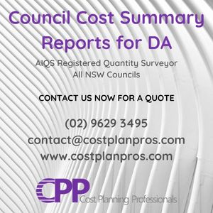 QS Cost Summary Report