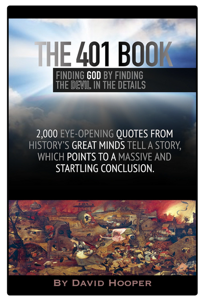 Working book cover for The 401 Book by David Hooper.