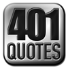 The 401 Quote Card Series by GenpopMedia.  2,000 quotes from history that will knock your socks off.